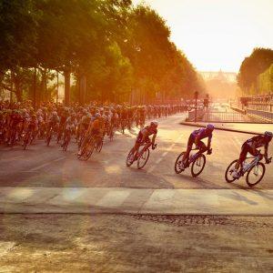 夏日單車圖像小說慶典─環法終點賽之夜
